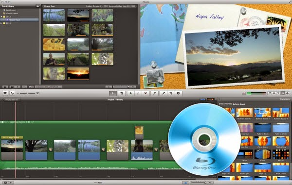 import or edit Blu-ray in iMovie