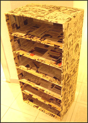 Humanoscopio mueble de cart n - Papel para muebles ...