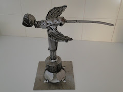 Escultura - Beija-flor -