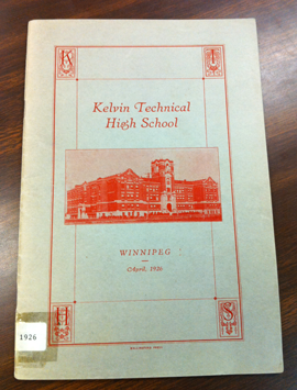 1926 KELVIN YEARBOOK