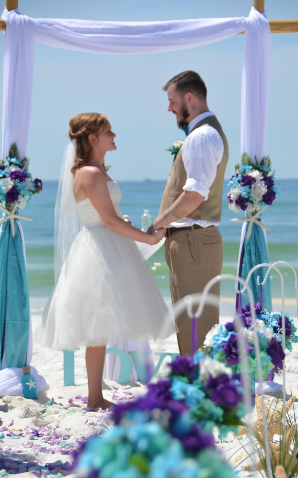 Affordable Beach Wedding Vow Renewal Packages