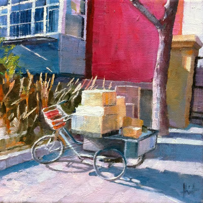 Chinese Delivery by Liza Hirst
