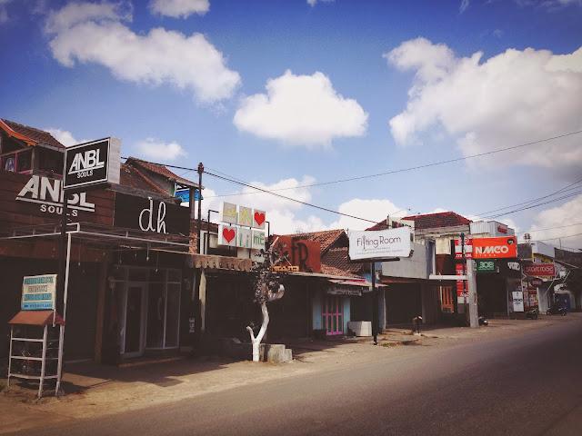Boutiques at Yogyakarta Jalan Cendrawasih