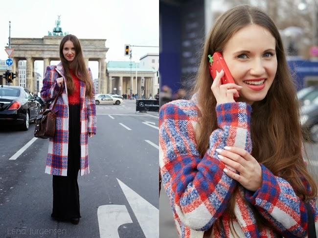 Zara 2013 AW Plaid Coat