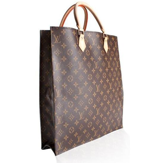 emm pronounced edoublem louis vuitton monogram sac plat tote bag. Black Bedroom Furniture Sets. Home Design Ideas