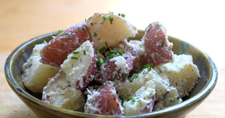 Jenessa's Dinners: Horseradish Dill Potato Salad