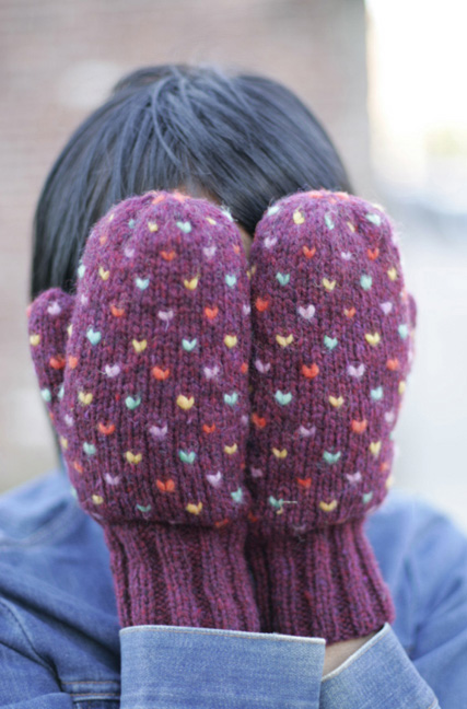 Knitting Pattern For Thrum Mittens : Yarn Garage: Minnesota Mittens - Thrummed Mitten Class w/ Nancy Wynn Starting...