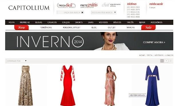 Vestidos de festa venda on line brasil