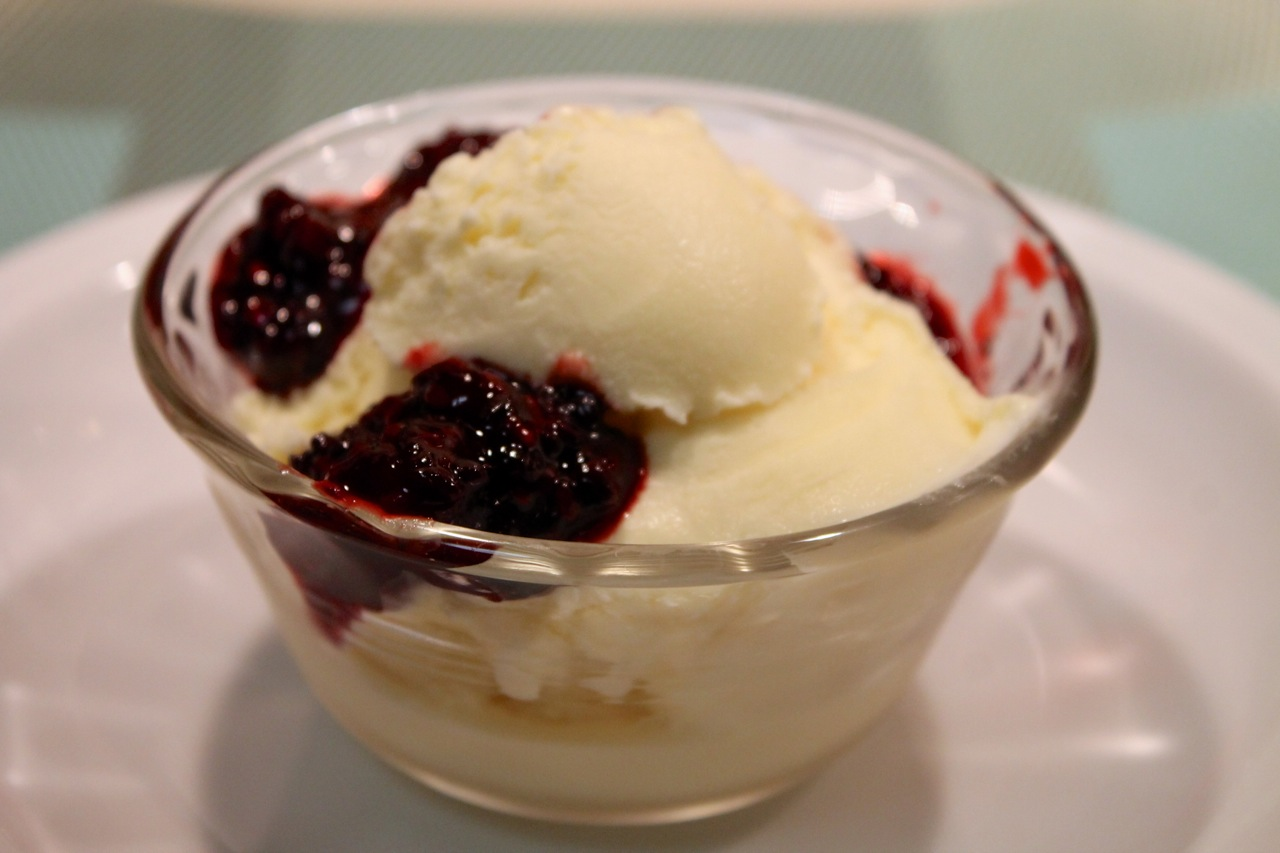 Blackberries With Sweet Cream Recipes — Dishmaps