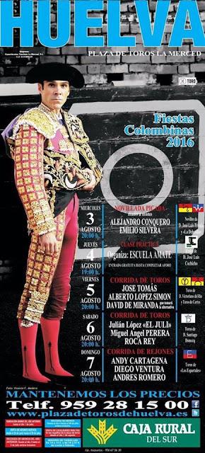 HUELVA (ESPAÑA) FIESTAS COLOMBINAS 2016.