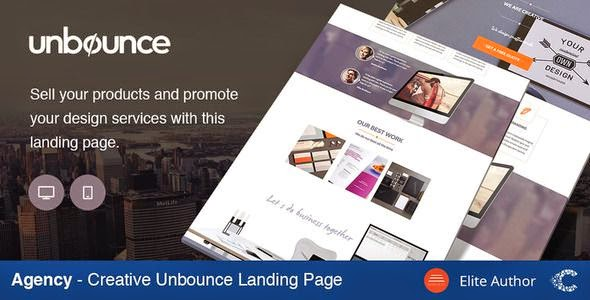 Best Agency Creative Landing Page Template