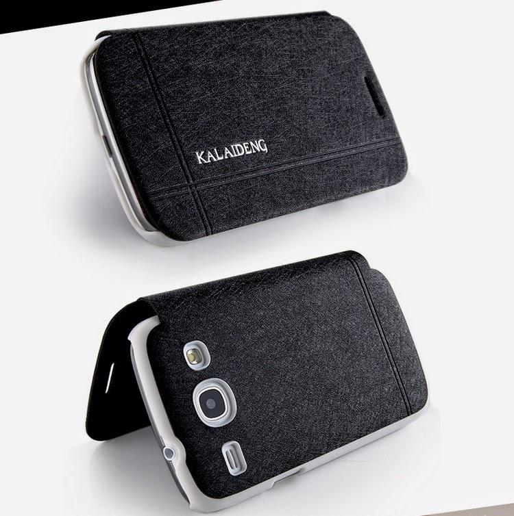 KLD Iceland Series Slim Fashion Folio Leather Case for Samsung Galaxy Core I8260 I8262