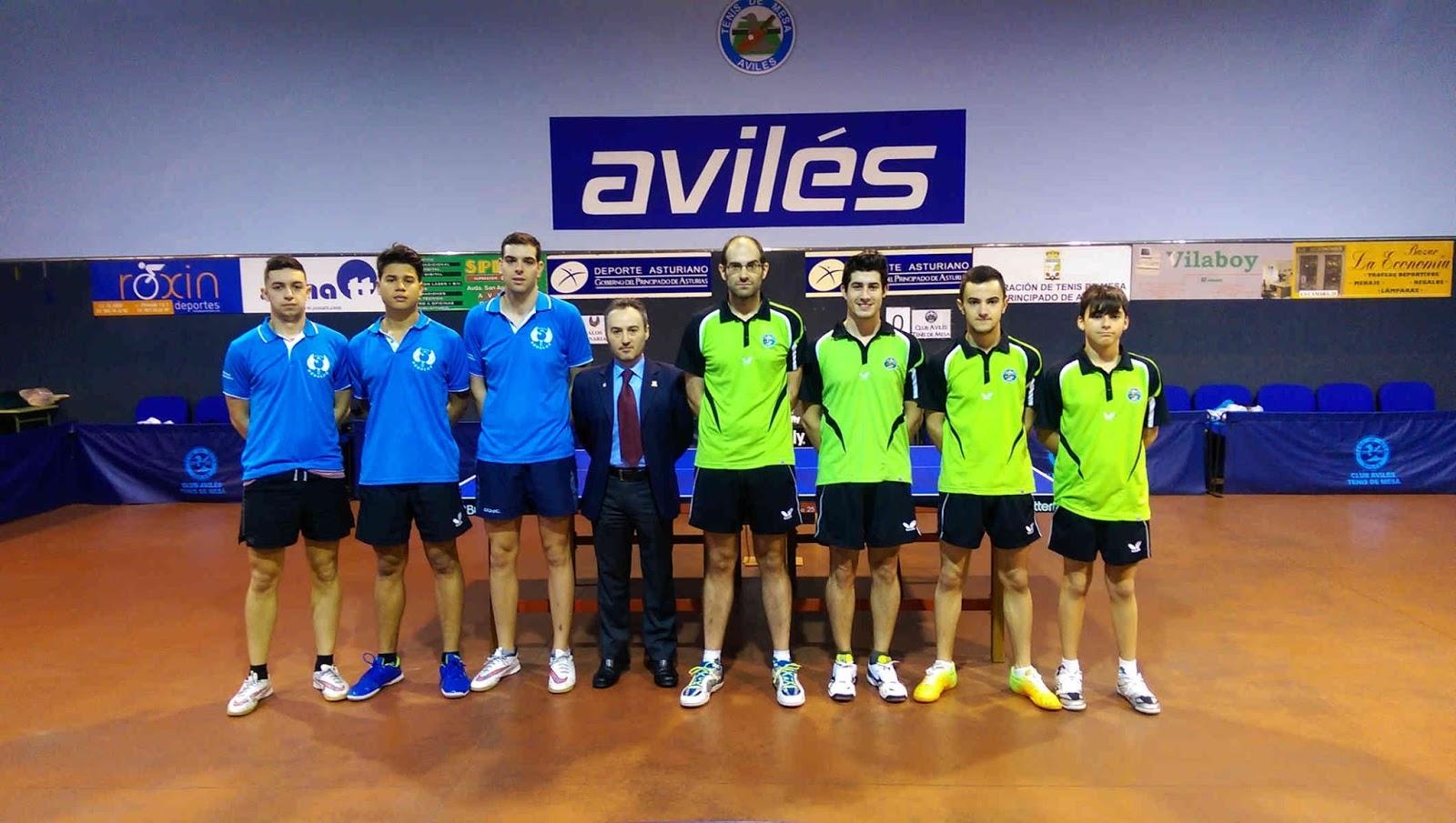 Federaci n de tenis de mesa del principado de asturias resultados ligas nacionales - Aviles tenis de mesa ...