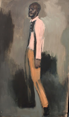 Lynette Yiadom-Boakye paintings at the Serpentine Gallery, Londo