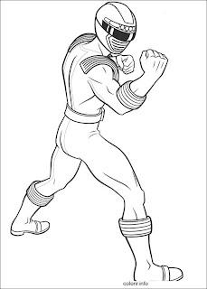 Desenhos do Power Rangers para pintar