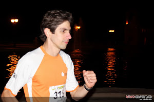 Eu na Meia Maratona Noturna de Curitiba 2012