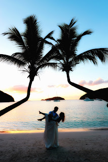 Maho Bay weddings