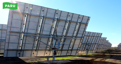 [PARU Solar Tracker] Intersolar Europe2015 03