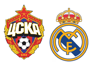 Partido CSKA Moscú Vs Real Madrid - Champions