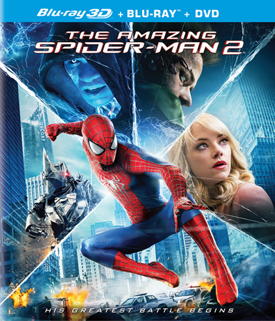 The Amazing Spider Man 2 2014 720p BluRay 900mb YIFY