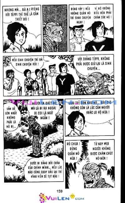 Siêu quậy Teppi chap 6 - Trang 160