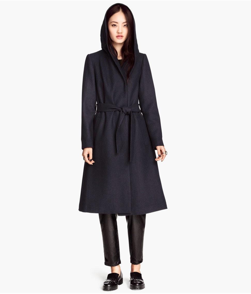 hooded winter coat women
