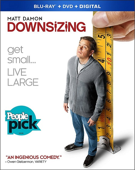 Downsizing (Pequeña gran vida) (2017) m1080p BDRip 11GB mkv Dual Audio DTS 5.1 ch