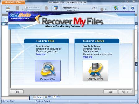 Wipes out Your Data Loss Worries Using Recover My Files from GetData
