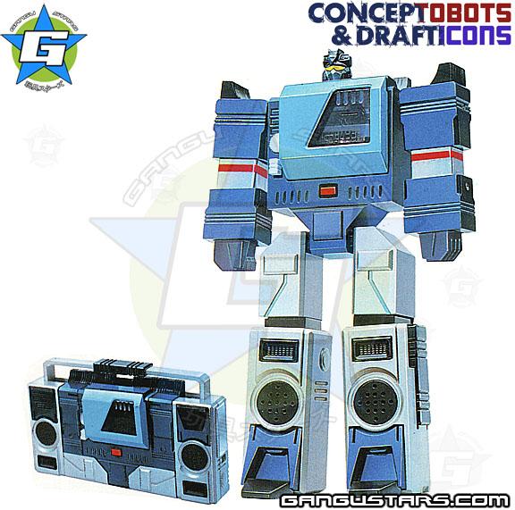 Transformers prototypes Blaster G1 トランスフォーマー タカラ Microman ミクロマン