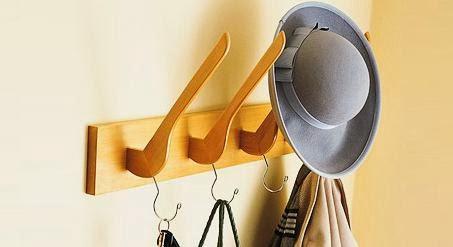 Ingeniando como hacer un perchero con ganchos para ropa for Ganchos para percheros