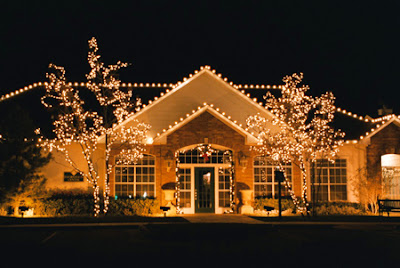 Fotos de Casas Decoradas para o Natal