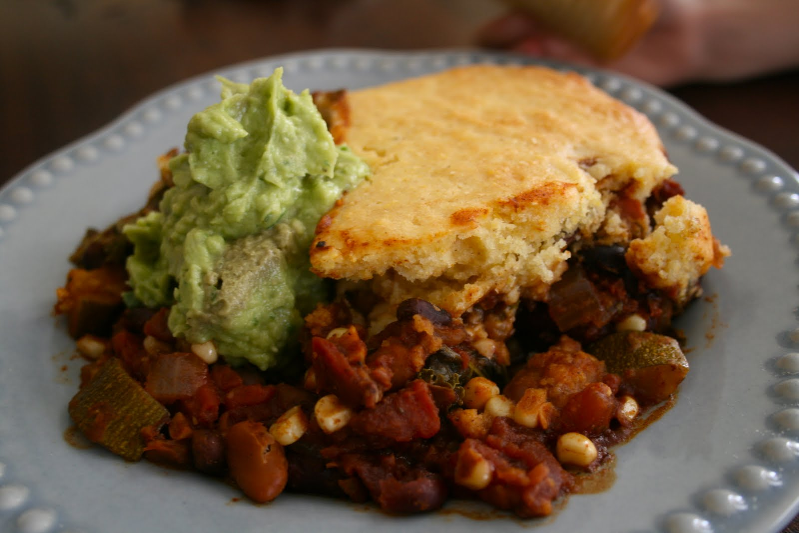 It Starts With Me: Plastic-Free Recipe: Vegetable & Bean Tamale Pie