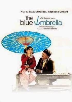 The Blue Umbrella 2005 Hindi BRRip 480p 300mb