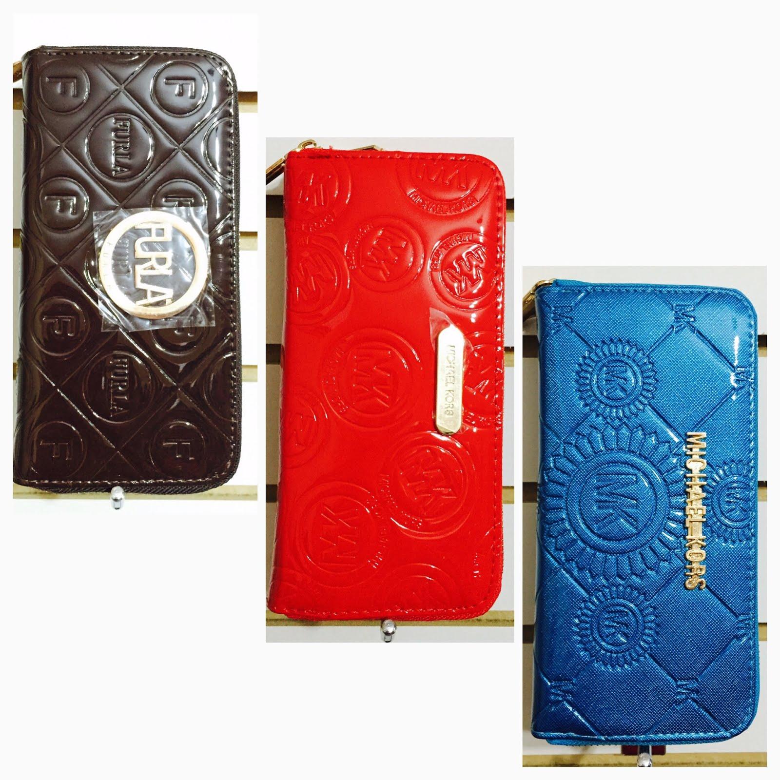 MONEDEROS 002 FURLA Marrón MK Rojo MK azul rey