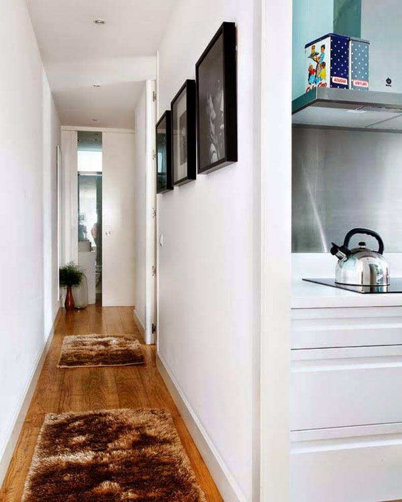 Observa y decora c mo decorar mis pasillos - Decorar pasillo estrecho y corto ...