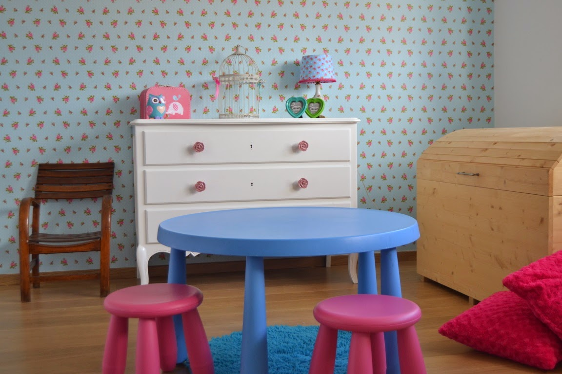 slaapkamer meisje | Pip studio | oude meubels recycleren