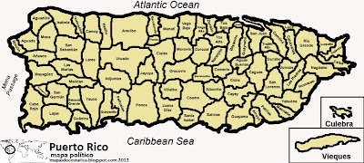 Puerto Rico, organización territorial