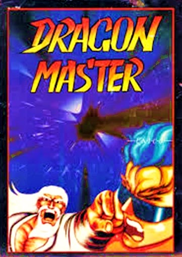 Dragon Master arcade game potable flyer