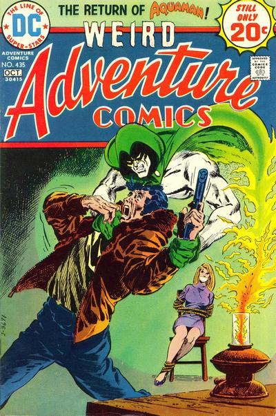 Adventure Comics #435, Jim Aparo, the Spectre