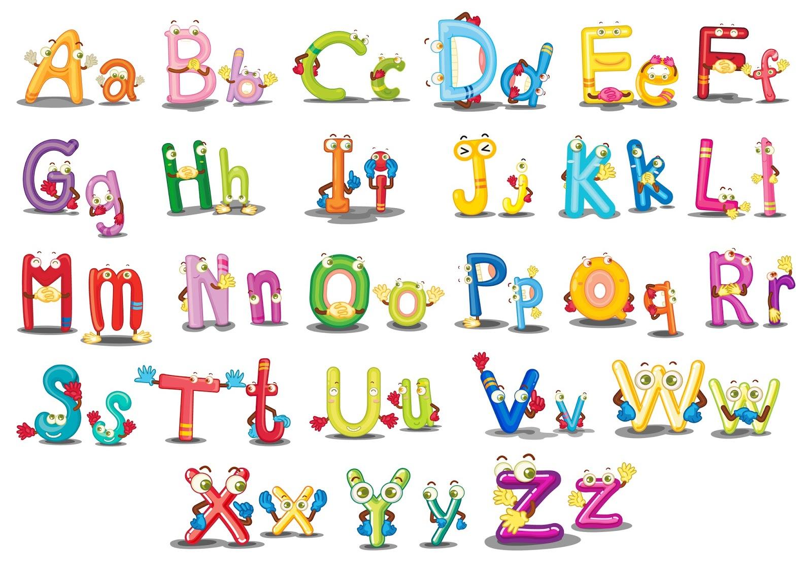 4 Letter Cartoon Characters : Banco de imÁgenes imágenes didácticas para niñas y