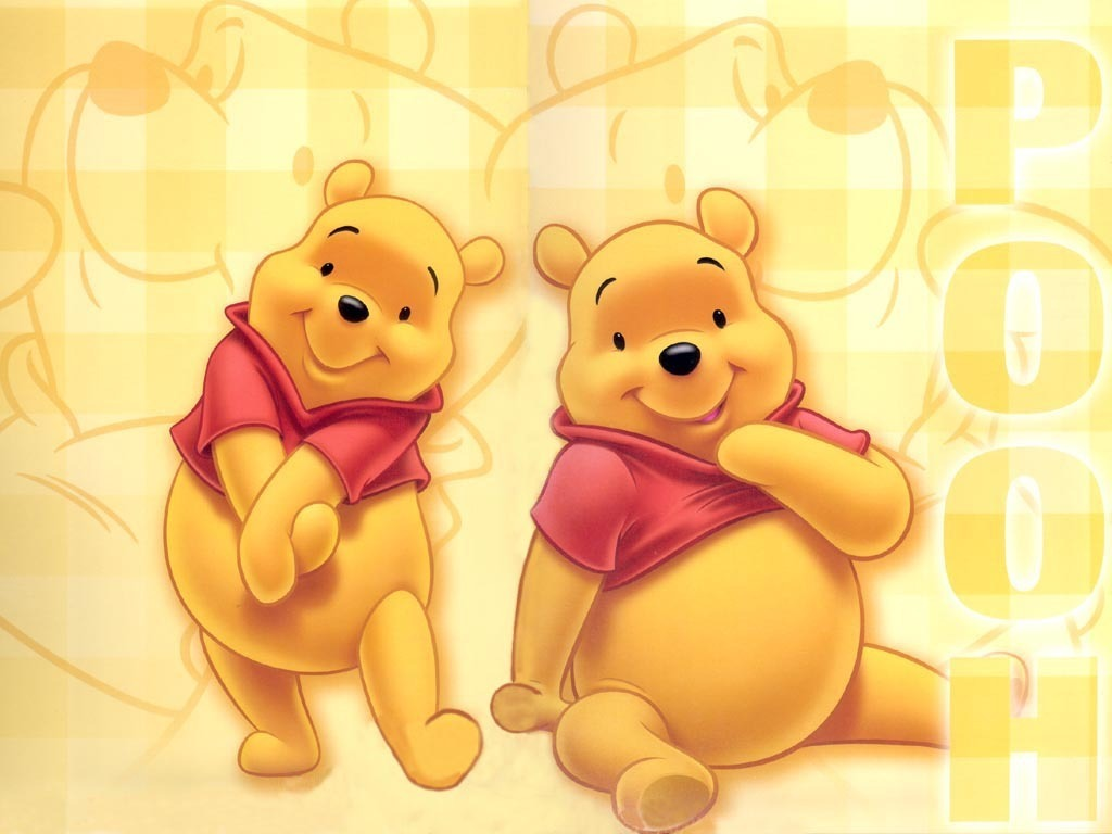 baby pooh and friends wallpaper. Black Bedroom Furniture Sets. Home Design Ideas