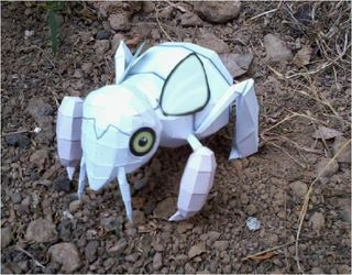 Pokemon Nincada Papercraft