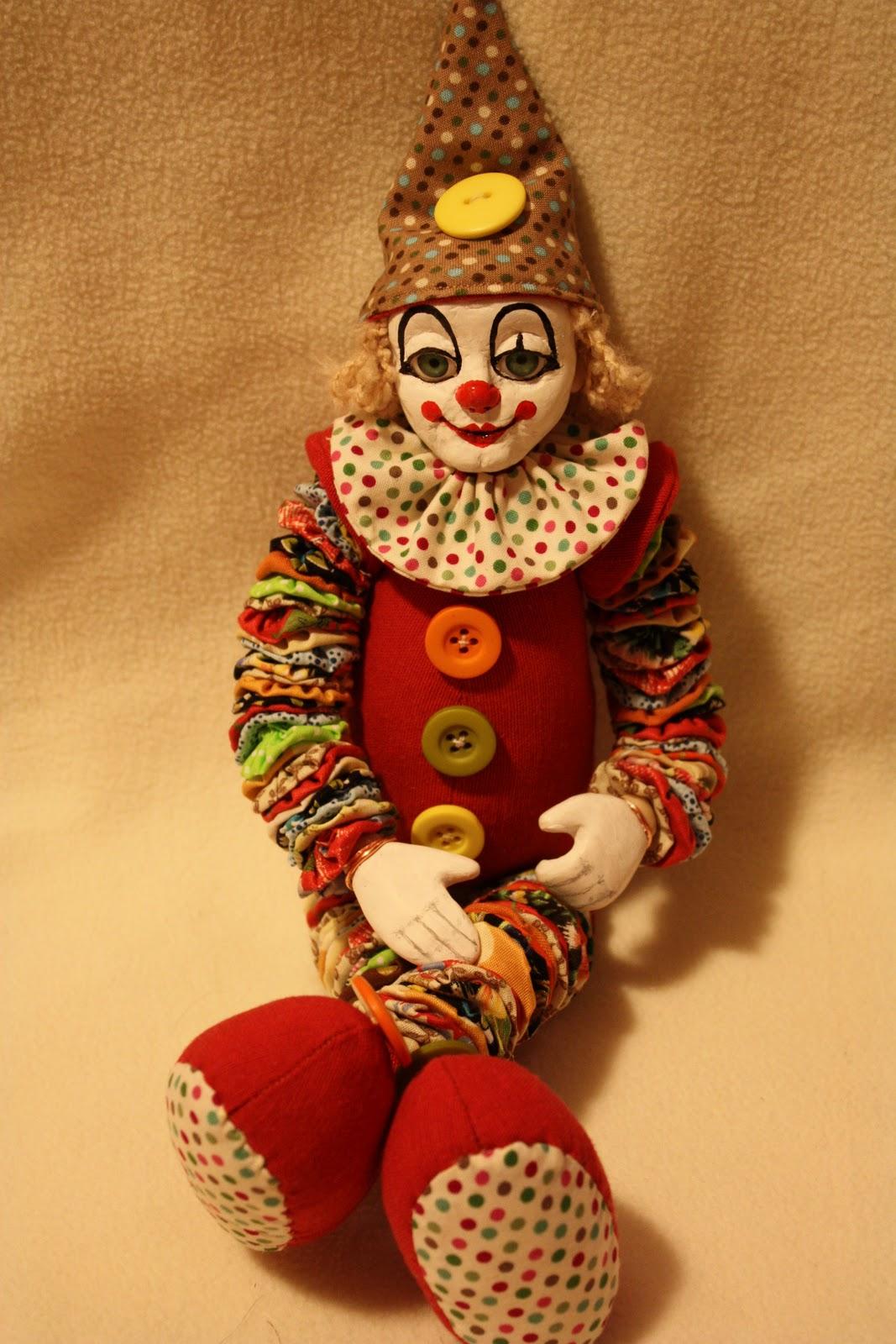 Сшить клоуна своими руками фото