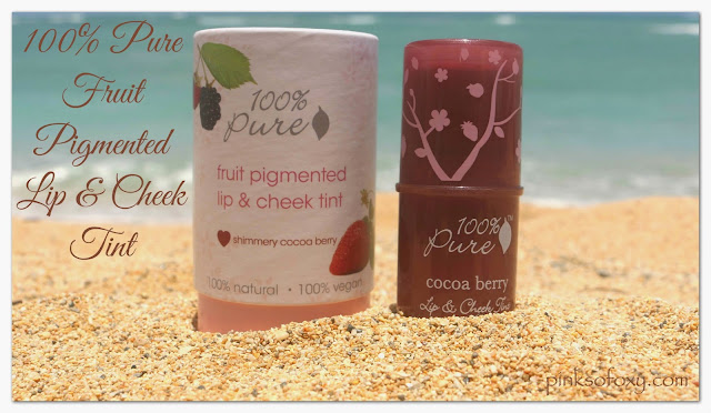 100 Percent Pure Lip & Cheek Tint