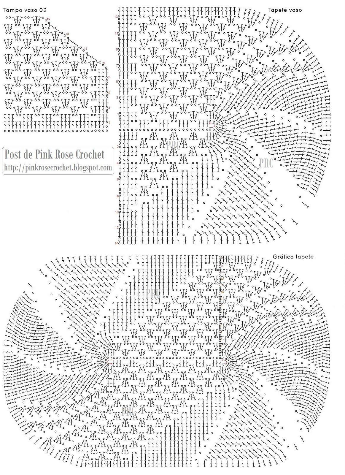 Gráfico  Jogo de Banheiro Oval -> Jogo De Banheiro Simples Em Croche Com Grafico
