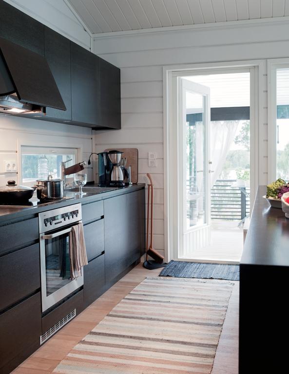 Relativamente cucine bianche e nere xk16 pineglen - Cucine moderne nere ...