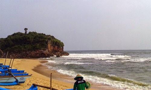 Wisata Pantai Drini Jogja