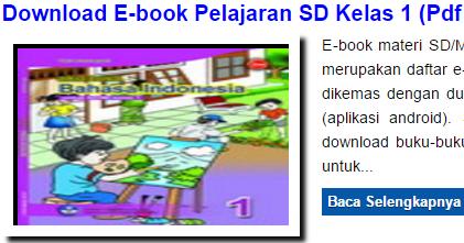 Download Buku Pelajaran Sd Kelas 1 Pdf Dan Apk File