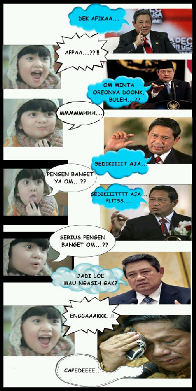 Afika vs SBY Bagian 1