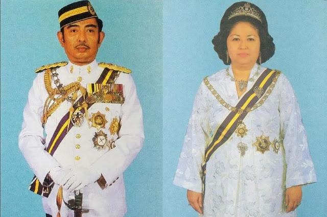 Wajah wajah  Sultan Idris Shah Dan Raja Perempuan Muzwin